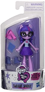 """My Little Pony Equestria Girls Fashion Squad Twilight Sparkle 3"""" Mini Doll with Removable Outfit, Shoes & Accessory, for Girls 5+"""