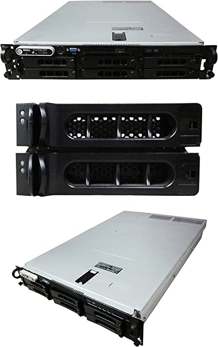 2x PSU Perc6i 64gb 1tb Dell Poweredge 2950 III 2x X5450 3.0ghz Quad Core