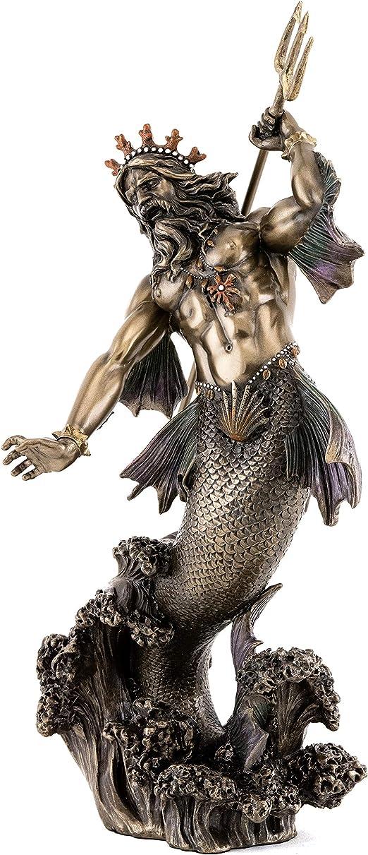 /Poseidon Neptuno Griego Romano Estatua/ Desconocido francescaskitchen339/Venta/ /magn/ífico.