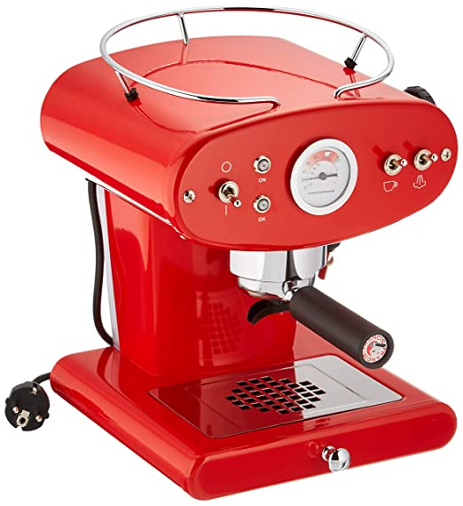 Francis Francis para Illy X1 Ground Coffee Machine, Rojo ...