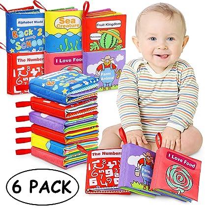 Livres D Eveil Bebe Livres En Tissu Jouet Educatif Cadeau