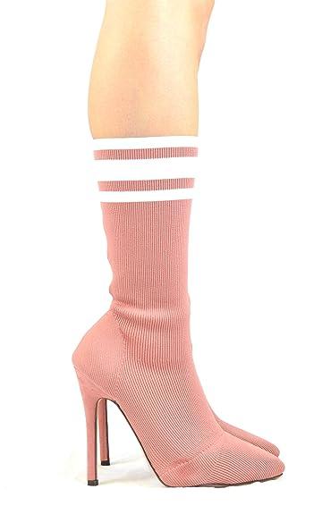 Monterey-1 High Heel Sock Bootie