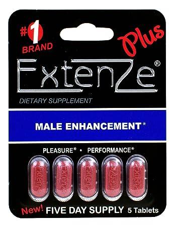 Amazon Extenze Plus 30 Tablets 6 5 Pill Packs Health