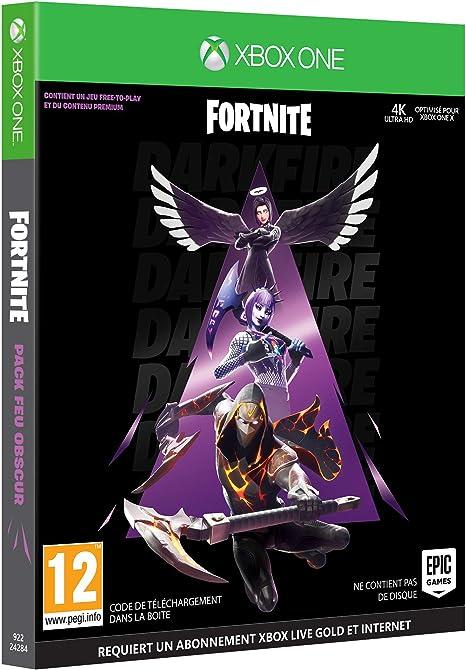Fortnite : Pack Feu Obscur pour Xbox One [Importación francesa ...