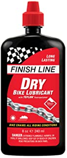 Finish Line Dry Bike Lubricant with Teflon Squeeze Bottle