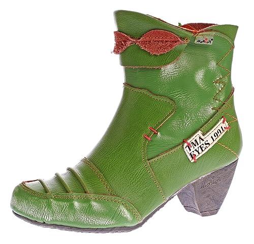 Ziernähte 8909 Comfort Tma Gr36 Schuhe Boots 42 Stiefeletten Stiefel Echt Leder Damen vO8ymN0wn
