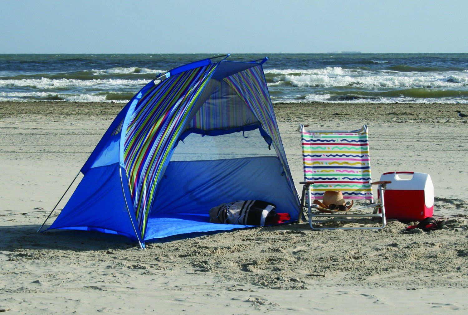 Amazon.com Texsport Calypso Quick Cabana Beach Sun Shelter Canopy Sports u0026 Outdoors : beach tents amazon - memphite.com