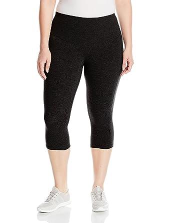 45d66b81348 Rainbeau Curves Women s Plus Size Curve Basix Compression Capri at Amazon  Women s Clothing store