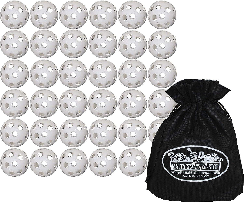 Wiffle Plastic Practice Golf Balls