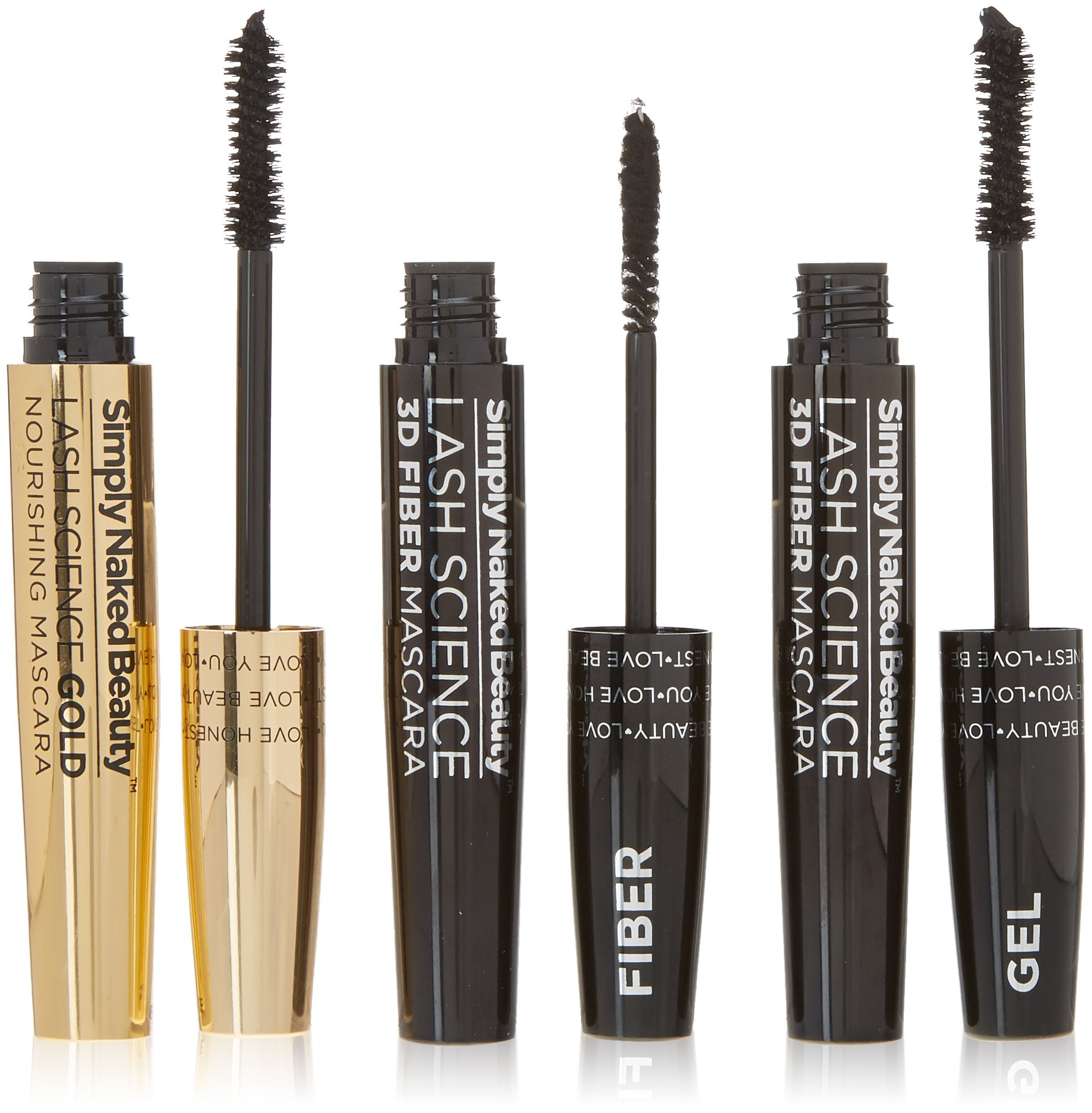242846fbece 3D Fiber Lash Mascara with Eyelash Enhancing Serum by Simply Naked Beauty.  Infused with Organic Castor ...