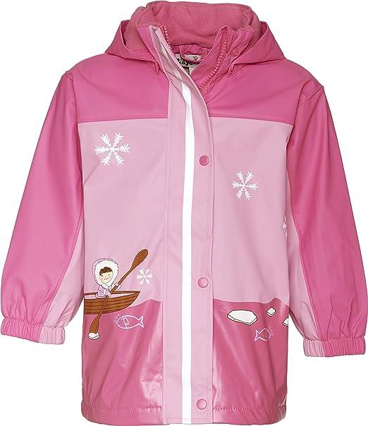 Playshoes Regen-mantel Punkte Giacca impermeabile Bambine e Ragazze