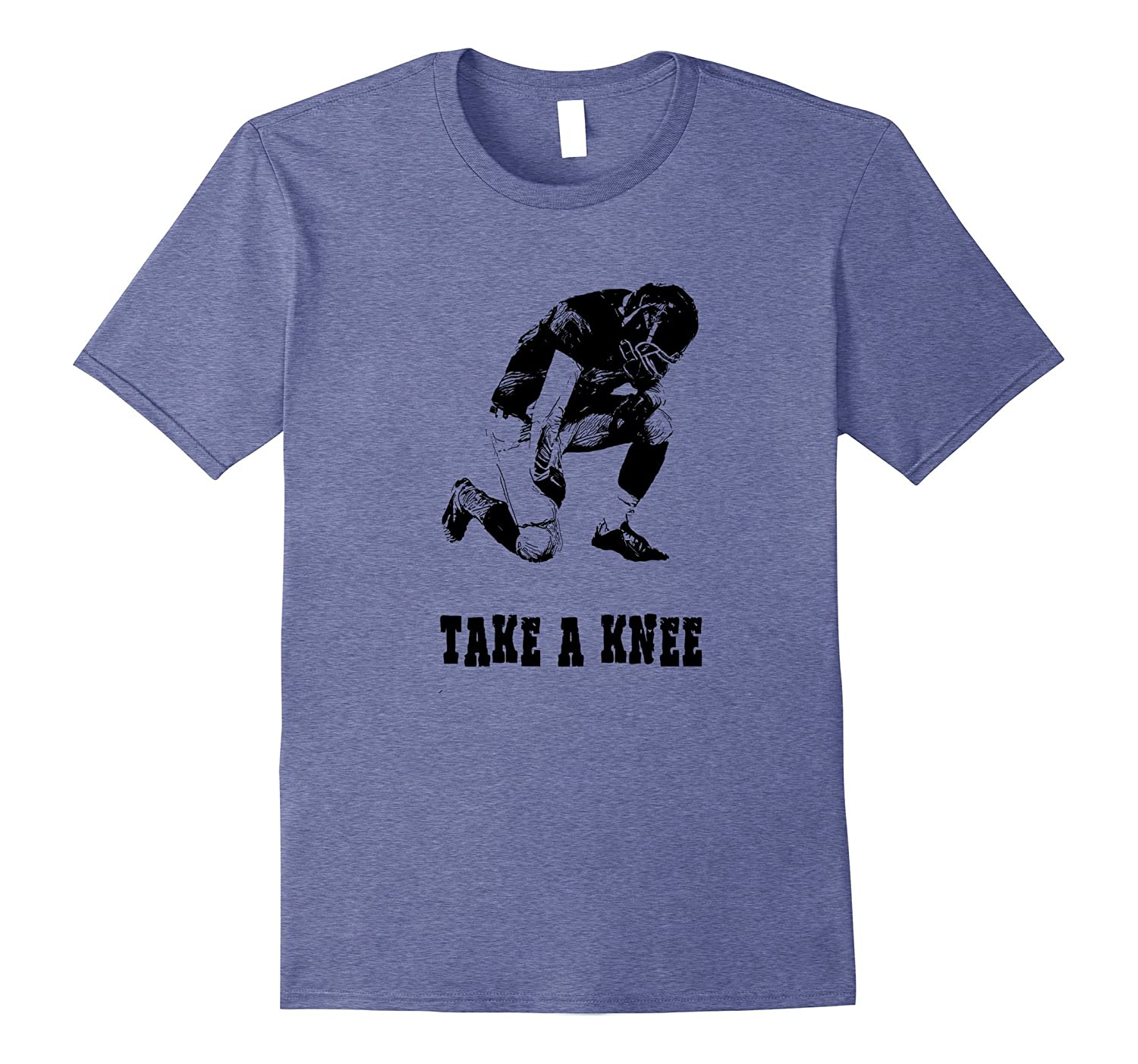 Football players opinion kneel in civil disobedience t shirt-FL