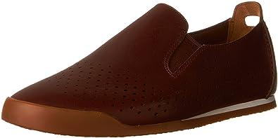 Clarks Men's Siddal Step Chestnut Leather Shoe