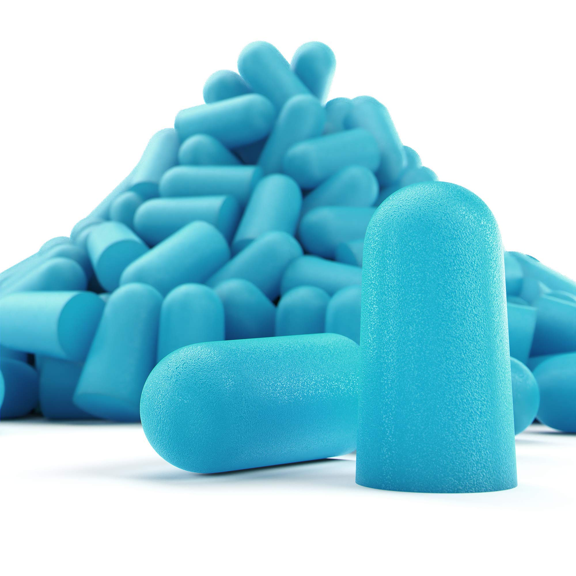 Eargasm Foam Earplugs, 300 Pairs, 32 dB NRR, Super Soft, Great for Sleeping, Studying, Snoring, Comes with Bonus Carrying Case