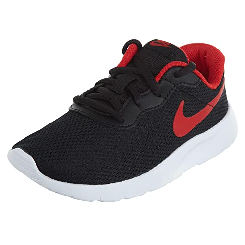 san francisco 617e2 72dea official store nike tanjun boys running shoes little kids 1 m us little kid  black 4358b
