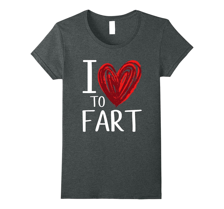 Womens Funny Flatulence Shirt Large-Tovacu