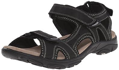 abc9b8528f656 Kamik Men s Pier Sandal Black 7 Medium US