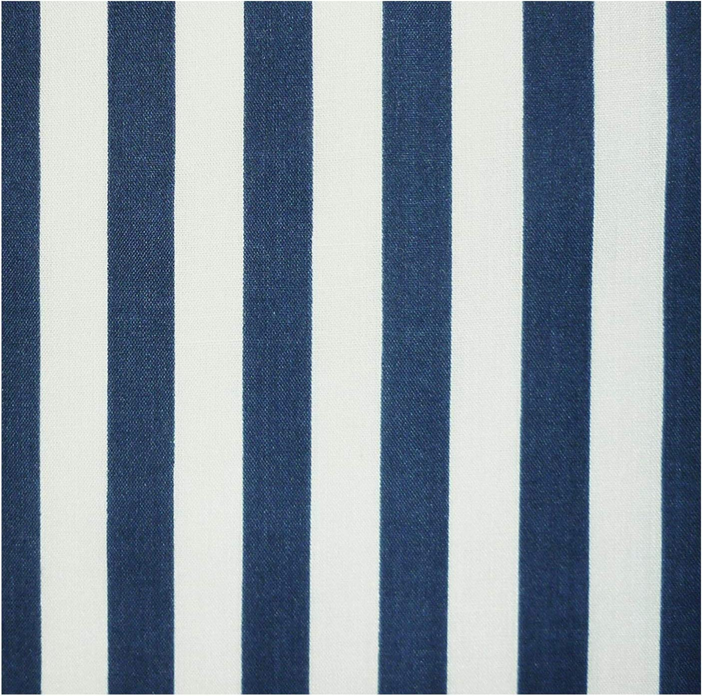 per metre Curtain Fabric Top Stripe Blue