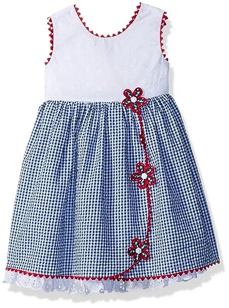 Bonnie Jean Americana - Vestido para niña  Amazon.com.mx  Ropa ... 12842763b4d6