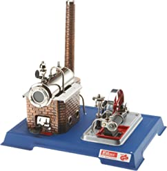 New Au Special Wilesco D3 Toy Steam Engine With Brass Boiler