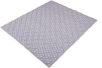 130x150cm Krabbeldecke und Laufgittereinlage ideal als Spieldecke IDEENREICH Baby Krabbeldecke Krabbeltraum| Dschungeltiere| RUTSCHFEST