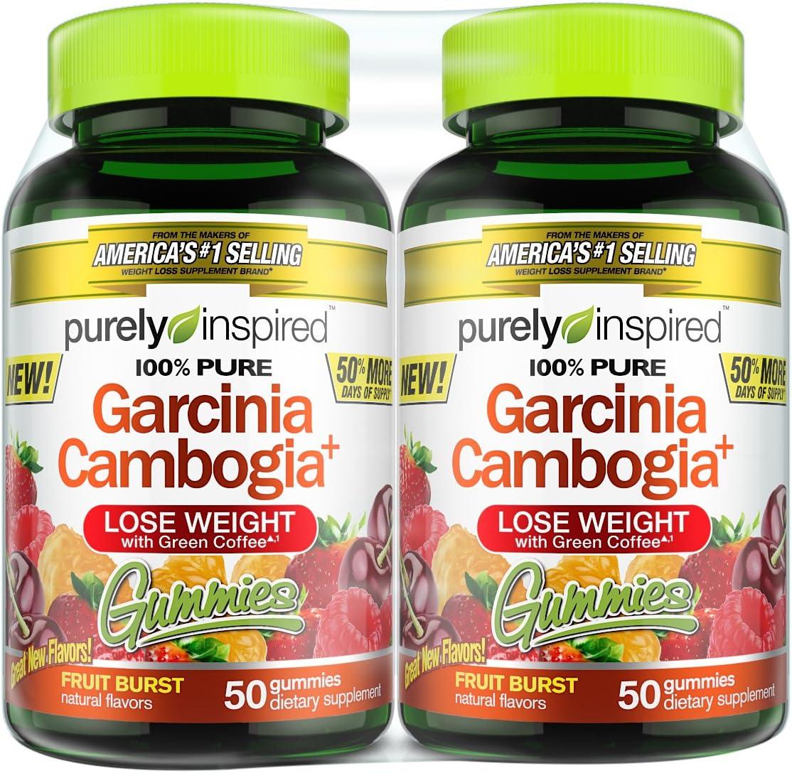 Amazon Com Purely Inspired Suplemento De Garcinia Cambogia Para