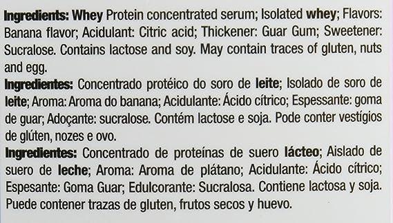 Quamtrax Nutrition Isowhey 5 Lb - Suplementos de Proteínas, sabor plátano - 2267 gr: Amazon.es: Salud y cuidado personal