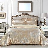 DM506Q Dolce Mela Bedding - Verona, Luxury Jacquard Queen size Duvet Cover Set