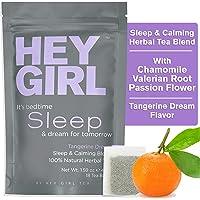 Sleep Aids Tea - Calming Anxiety Relief & Stress Relief Tea Blend -100% Natural Herbal Tea - No Melatonin and Non-Habit…
