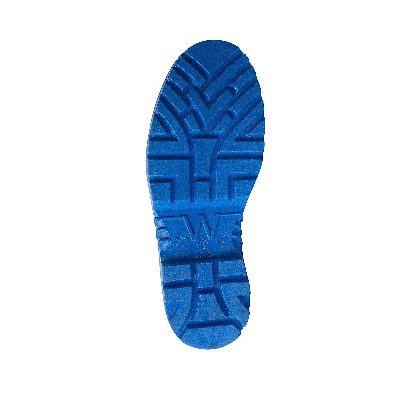UltraSource Polyurethane Steel Toe Work Boots Size 9 Blue