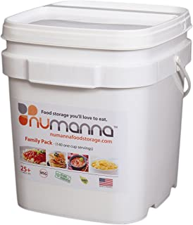 NuManna INT-NMFP 144 Meals Emergency Survival Food Storage Kit Separate Rations  sc 1 st  Amazon.com & Amazon.com : Survive2thrive 100% USDA Organic 40-day Nutrition ...