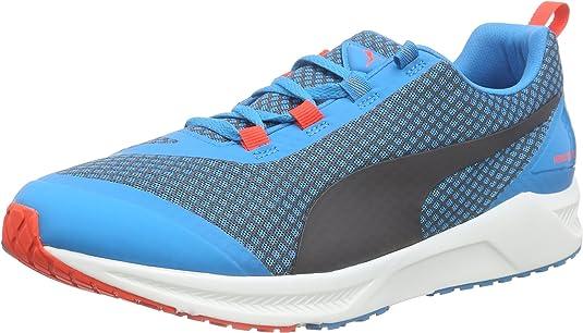 Puma Ignite Xt Core - Zapatillas de running Hombre, Azul (atomic blue-black-red blast 01), EU 40.5: Amazon.es: Zapatos y complementos
