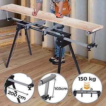 Soporte Para Ingletadora - Con Altura Variable, Longitud 110-200cm ...