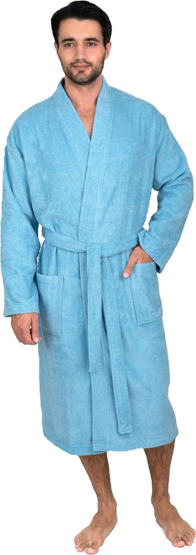 Turkish Bathrobe ITurkish Towel Robe|Turkish Cotton Kimono RobeIPeshtemal Robe,Kimono Robe,Spa Robe,Beach Towel,Travel Robe