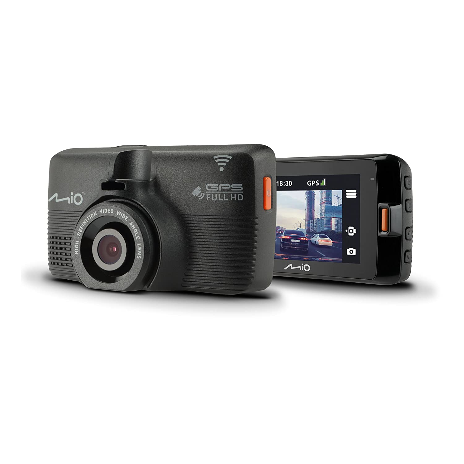 Mio Mivue 792 Wifi Pro Full Hd 1080p In Car Dash Cam And Dvr Prospeed Sx Series Yamaha Xride Red Electronics