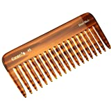 Giorgio G49 5.75 Inch Large Hair Detangling Comb, Wide Teeth for Thick Curly Wavy Hair. Long Hair Detangler Comb For Wet…