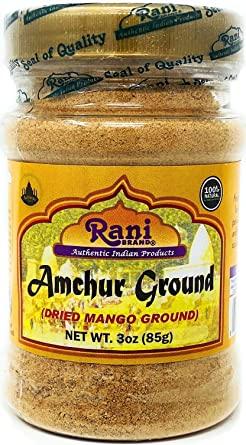 Rani Amchur (mango) molido: Amazon.com: Grocery & Gourmet Food