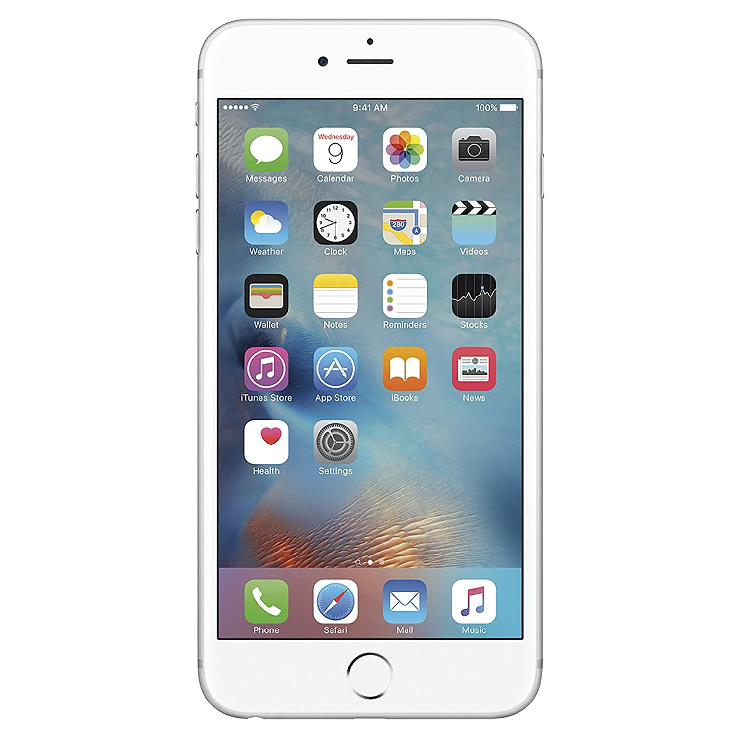Amazon Com Apple Iphone 6s Plus Gsm Unlocked 128gb Silver