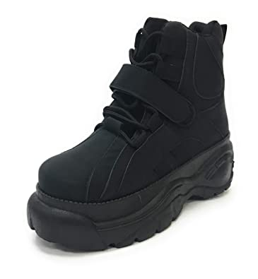 Tayson-02 Yoki Fashion Trendy Chunky Heavy Triple Sole Lace Up Dad Sneaker Boots