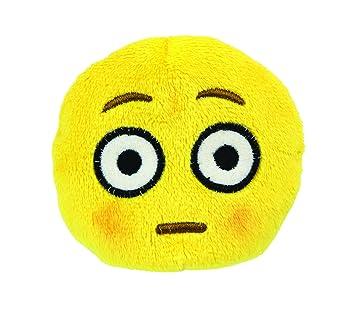 Amazon.com: Emoji Beanbag - Blushed Face Plush: Toys & Games