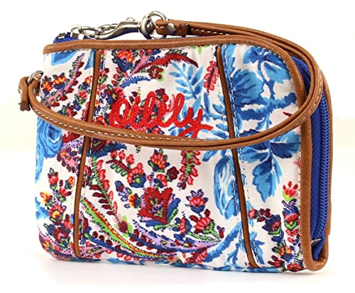Oilily Wrist Wallet Monedero Geldbeutel Dutch Flower Azul ...