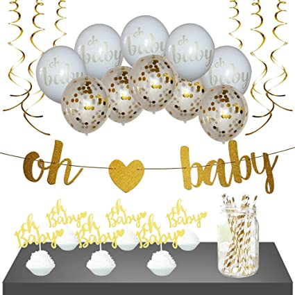 Amazon Baby Shower Decorations Gender Neutral For Girl Or