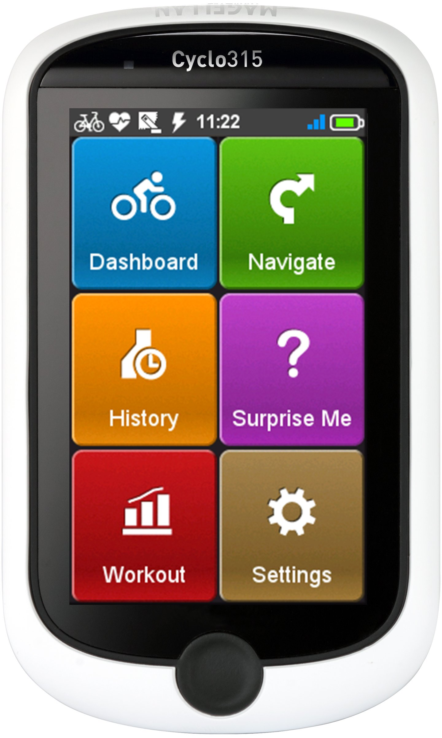 Magellan CY0315SGHNA Cyclo 315hc GPS Cycling Computer with Ant+ Heart Rate Monitor and Speed/Cadence Sensor