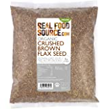 RealFoodSource Certified Organic Ground (Crushed) Brown Flax Seed 1kg