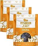 Pan's Mushroom Jerky - Original | 2.2oz, 3 count | Shiitake Mushroom Snack, Vegan, Plant-Based, Gluten-Free