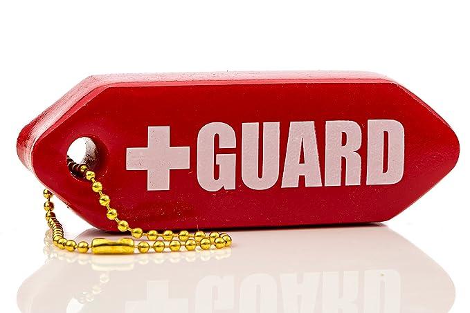 BLARIX Guard Rescue Tube Float Keychain Floating Key Chains