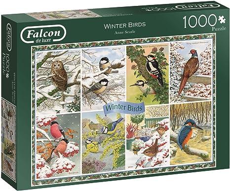 1000 Piece Jumbo Winter Garden Jigsaw Puzzle