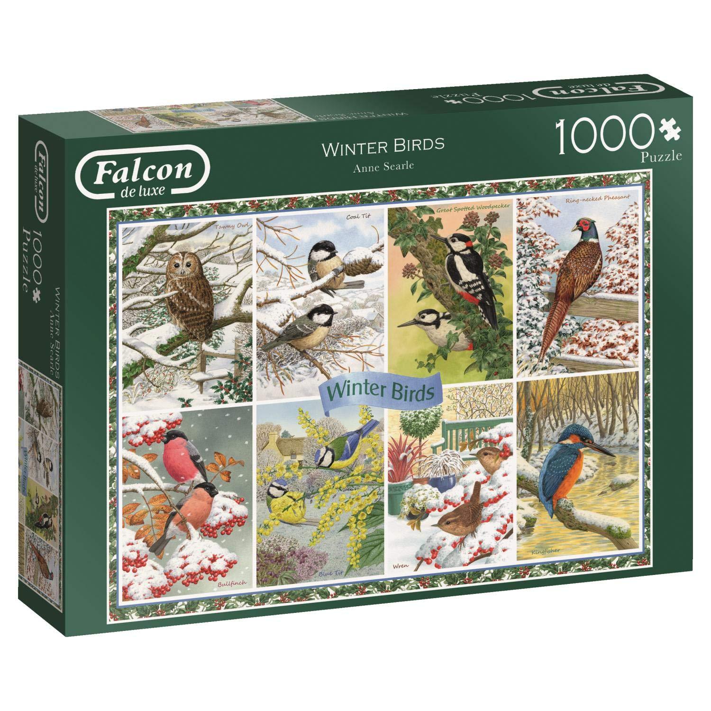 大人気 Falcon Multi Puzzle, de luxe 11234 Winter Birds 11234 1000 Piece Jigsaw Puzzle, Multi B07FBR16YF, 手芸の山久:9af12747 --- 4x4.lt