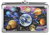Vaultz Locking Supply Box, 8.25 x 5.5 x 2.5 Inches, Embossed Planets