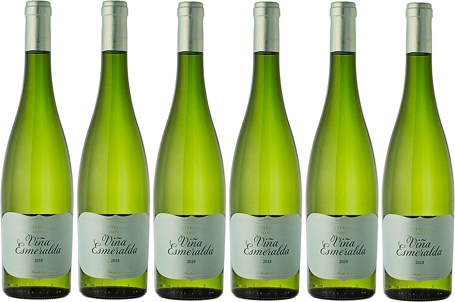 Viña Esmeralda, Vino Blanco - 6 botellas de 75 cl, Total: 4500 ml